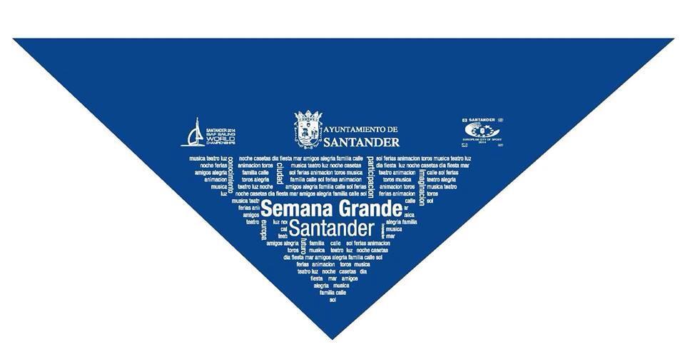 Pañueluco Semana Grande de Santander 2014