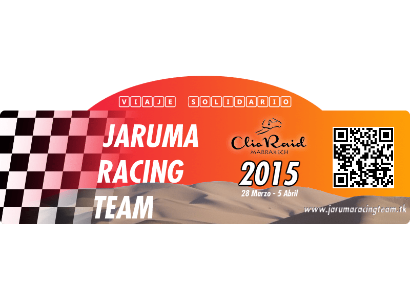 Clio Raid 2015 - Jaruma Racing Team