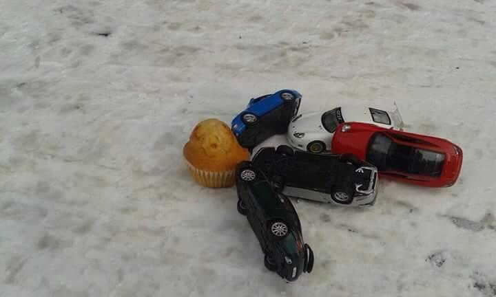 Accidente de coche contra la Magdalena