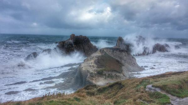 Playa de la Arnía (Cantabria)