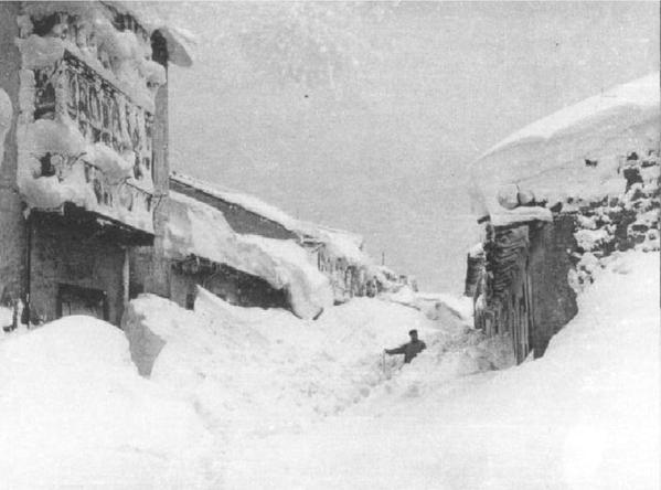 Reinosa nevada 1954