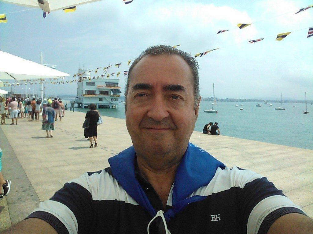 Selfie postureo santanderino del autor