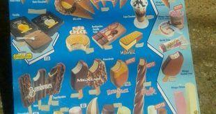 Cartel helados MIKO