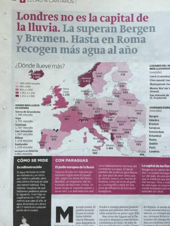 Lugares más lluviososde España vía @elcorreo_com