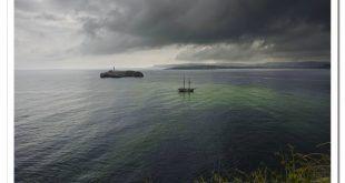El último corsario frente a la Isla de Mouro vía Antonio Ruiz