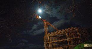 La Luna llena inspeccionó el Centro Botín - @RSanEmeterioP