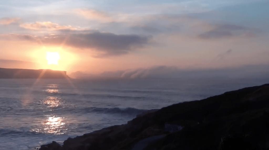 Niebla en la Playa de los Locos (Suances)