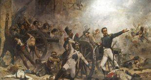 Defensa del parque de artillería de Monteleón, de Joaquín Sorolla