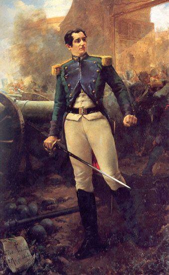 Pedro Velarde (1808), por Eugenio Oliva