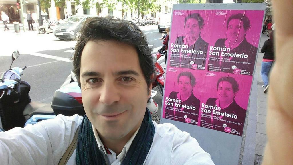 Román San Emeterio candidato de UPyD Cantabria