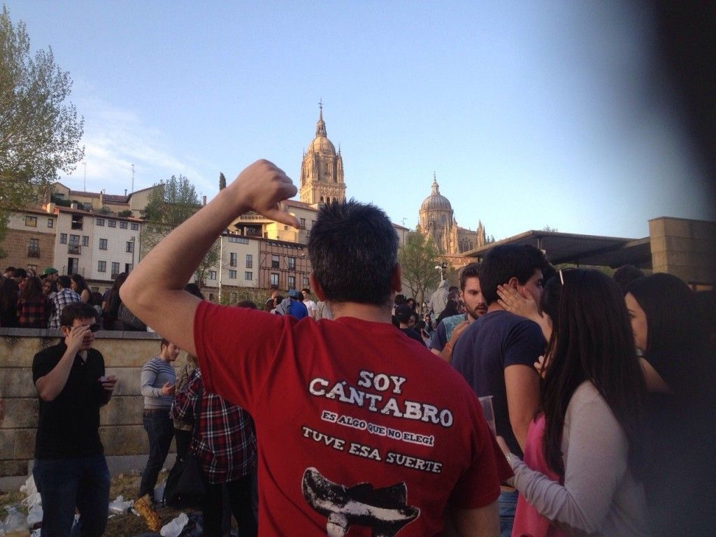 Lunes de Aguas en Salamanca Vía Oliver