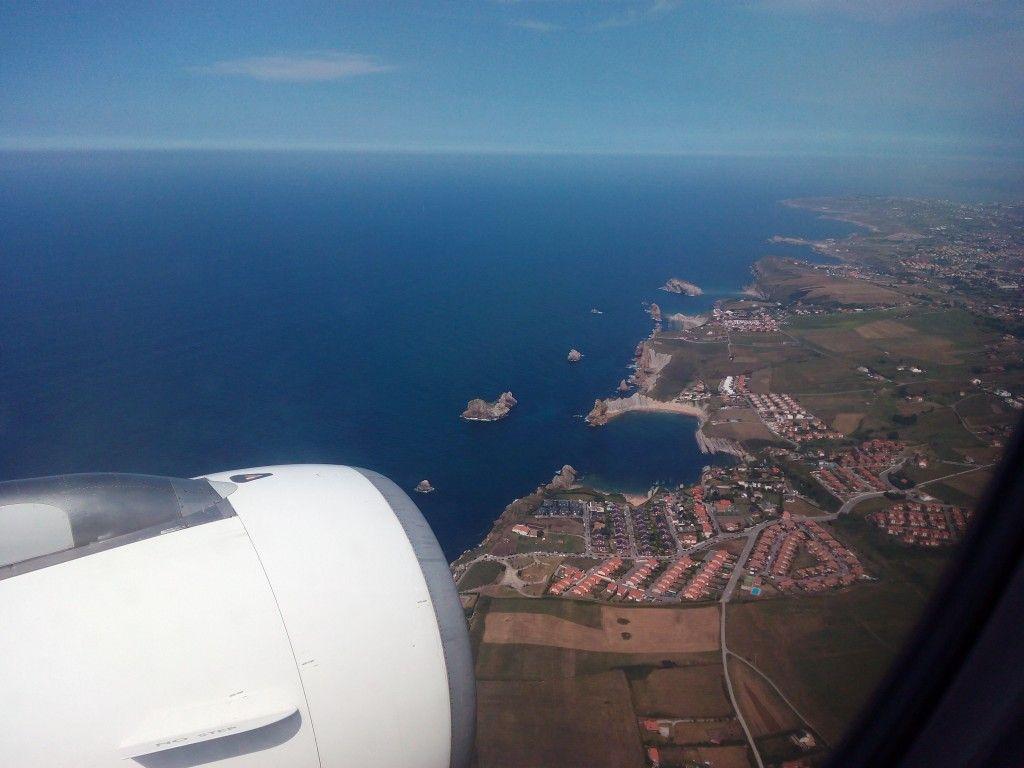 Costa Quebrada desde el aire II