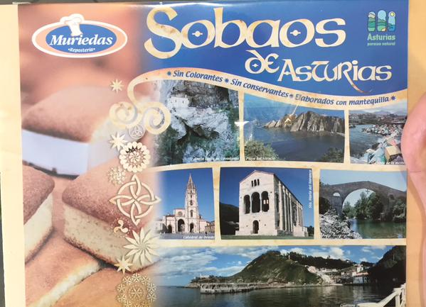 Sobaos asturianos vía @Montesvindios