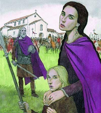 Adosinda, nieta de Don Pelayo - La Reconquista