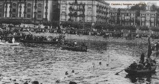 Partido de Waterpolo en Puertochico vía Cantabria y Santander en el Recuerdo