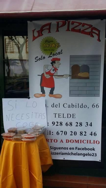 Pizzería Solidaria en Telde (Gran Canaria)