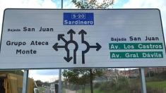 TURBO ROTONDA DE SANTANDER (CANTABRIA)