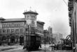 El edificio de Correos tras el incendio de Santander