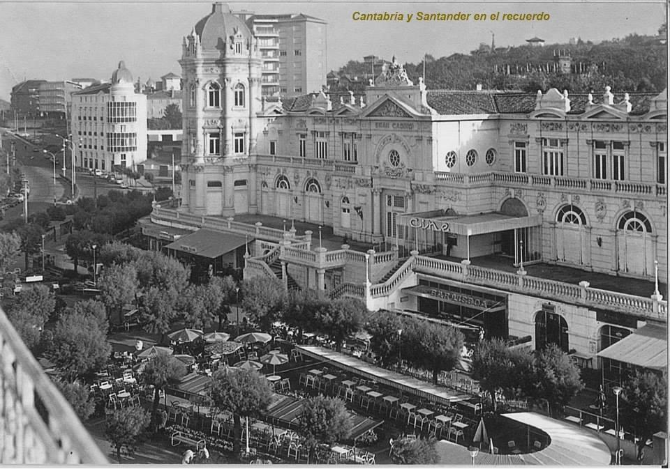 Años 70 - una imagen del Casino cuando había una sala de cine