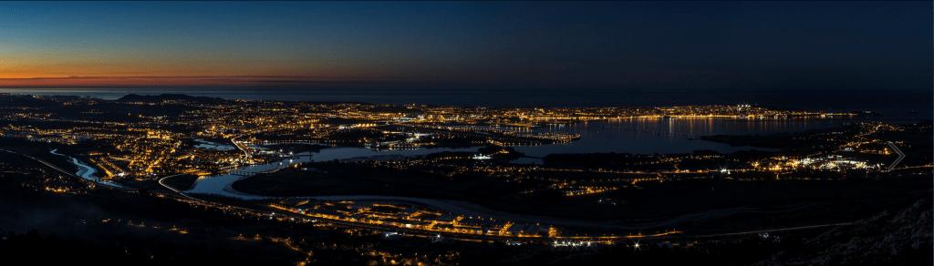 Atardecer en la Bahía de Santander - Marcos Marcial