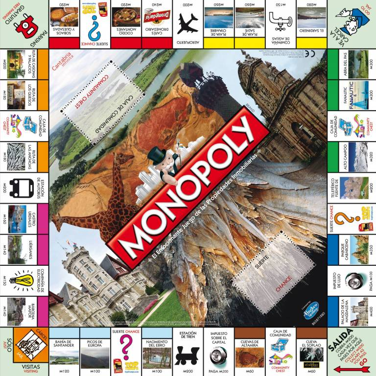 Monopoly Cantabria vía Monopoly Cantabia