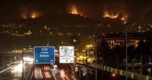 Timelapse de Mario Setién sobre los Incendios de Cantabria