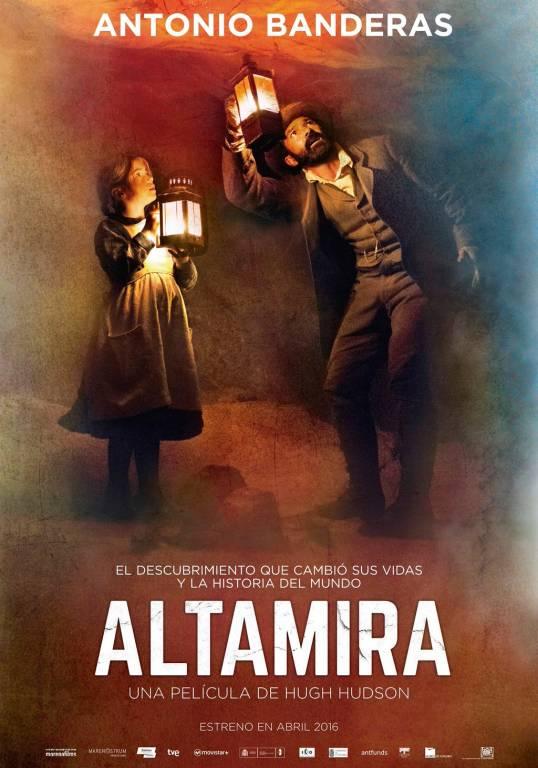 Cartel Película Altamira películas rodadas en Cantabria