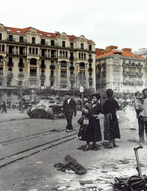 Tanques en Santander