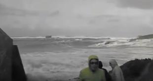 Temporal, precacución con el mar