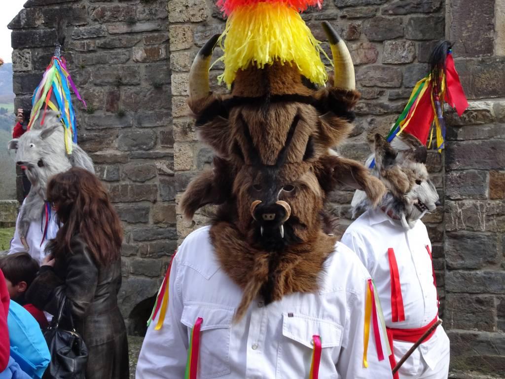 Zamarrón carnaval de Piasca