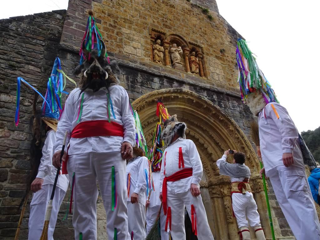 Zamarrones carnaval de Piasca