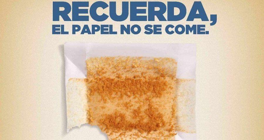 Recuerda: El Papel de los Sobaos Pasiegos no se come