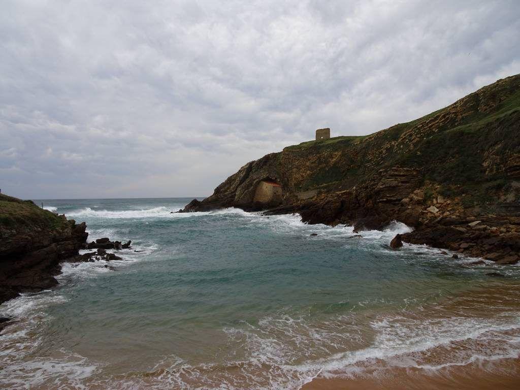 Ermita de Santa Justa y la atalaya de San Telmo
