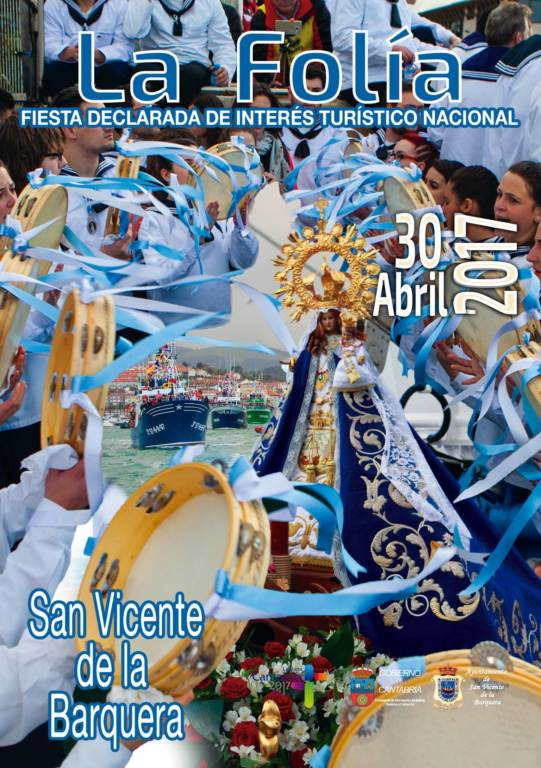 Cartel La Folia 2017 - San Vicente de la Barquera
