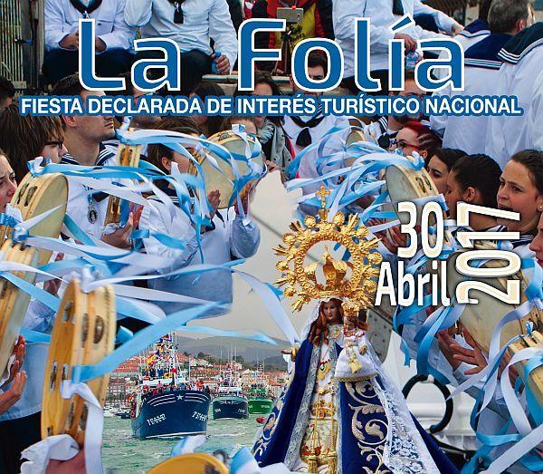 Cartel La Folia 2017 - San Vicente de la Barquera (Cantabria)