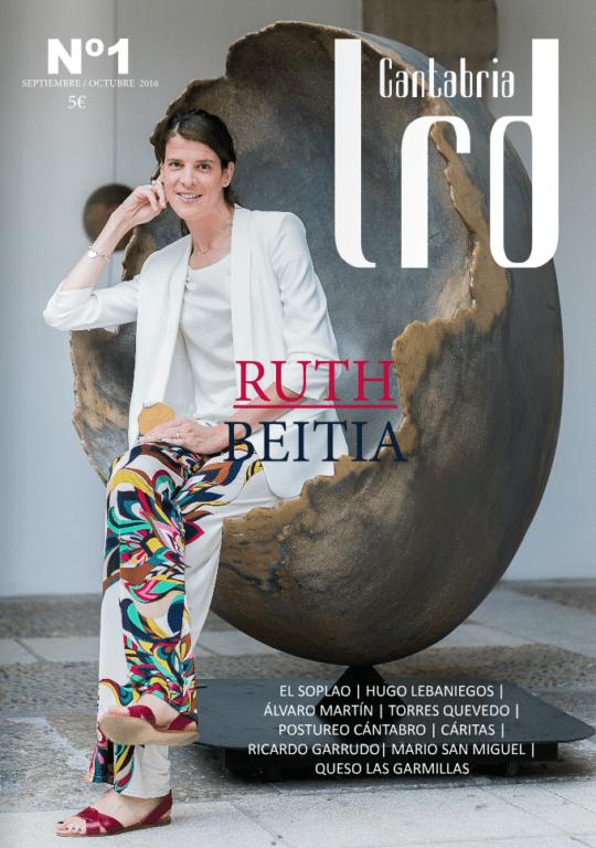 Ruth Beitia en La Revista de Cantabria LRD
