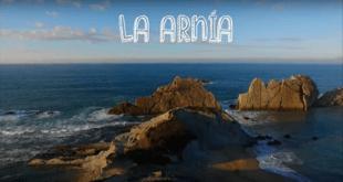La playa de la Arnía