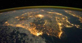 Península Ibérica iluminada vía Nueva Tribuna