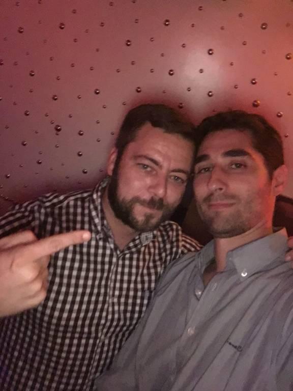 Richard Noya y Alejandro Marín
