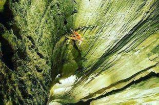 Espectacular foto del segundo pozo vertical más profundo del Mundo - Jesús Calleja