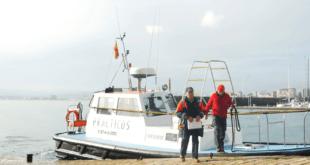 Un día como práctico del Puerto de Santander