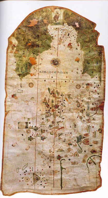 Mapamundi de Juan de la Cosa