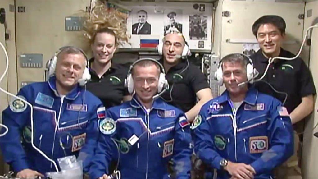 Miembros de la ISS