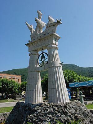 Monumento a Juan de la Cosa en Santoña (Cantabria)