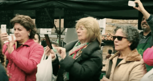 Flashmob en Cabezón de la Sal (Cantabria)