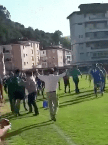 Violencia en el Fútbol (Laredo - Cantabria)