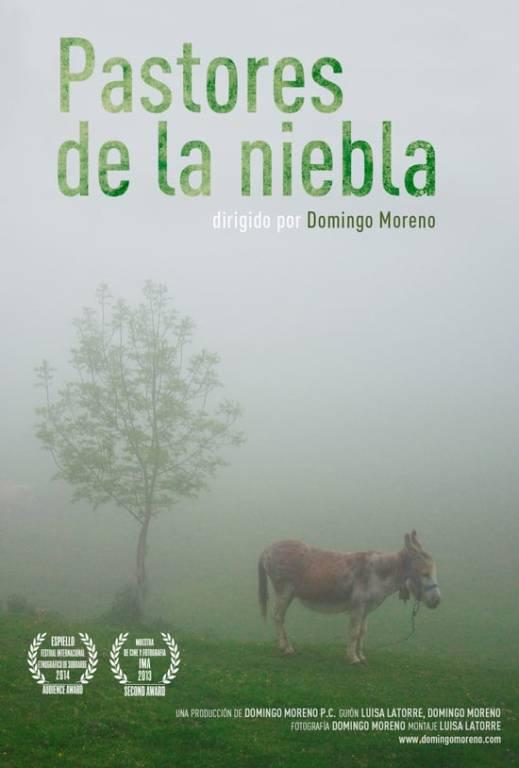 Cartel Pastores en la Niebla - Domingo Moreno