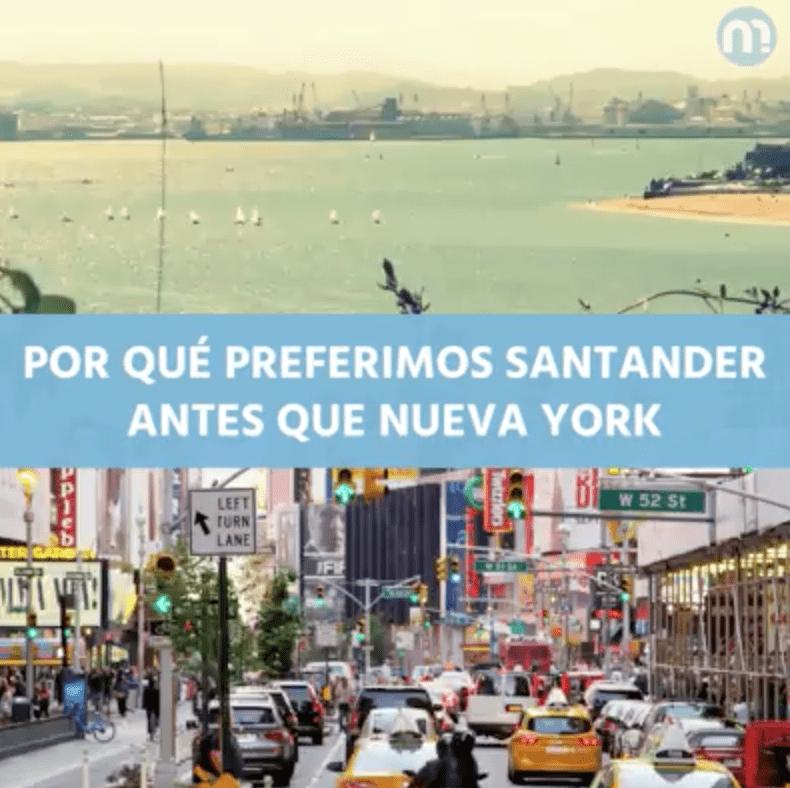 Por qué preferimos Santander antes que New York