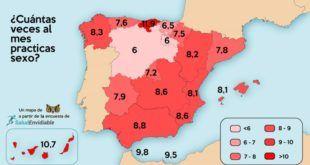 Mapa del Sexo en España