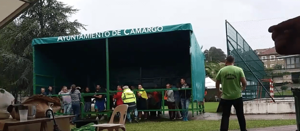 La lluvia en Cantabria no para una fiesta